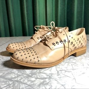 NWT Sam Edelman Jayna Studded Oxford Shoes